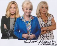 Barbara Windsor, S Womack & R Simons Hand Signed 8x10 Photo Autograph Eastenders