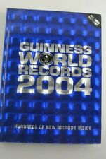 2004 Guinness World Records - Hardcover HC DJ Good
