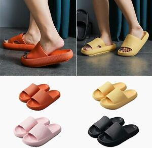 Non-slip Sandals Super Soft Slippers Cloud Shower Home Ripped Shoes