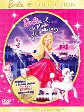 Dvd BARBIE  LA MAGIA DELLA MODA** All'Interno un Esclusivo Ciondolo di Barbie **
