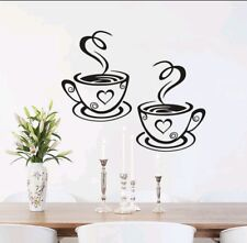 Set of coffee cups kitchen cafe home decor