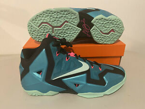 Nike LeBron XI South Beach LeBron James Men's Basketball Sneakers 11 (NEW)