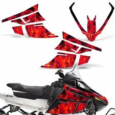 Decal Graphic Kit Arctic Cat F Series Z1 Sled Snowmobile Accessories Wrap ICE RD