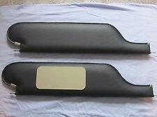 1966-67 chevelle  SS sun visors with vanity mirror black  basket  weave