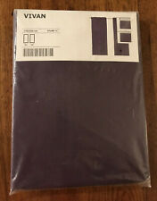 "IKEA Vivan Purple Curtain Pair Set of 2 Panel Curtain 57"" x 98"""