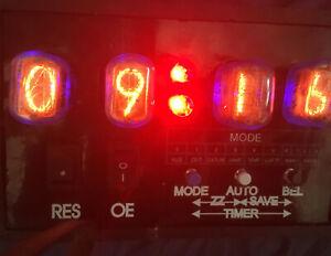 NIXIE UHR 2x WECKER BAUSATZ | NIXIE 2x ALARM CLOCK DIY CONSTRUCTION KIT