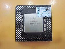Intel Pentium MMX 166 MHz SL27H FV80503166 Socket 7 VINTAGE
