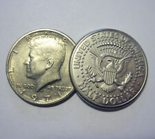 New Expanded Shell Magic Trick US Half Dollar Coin Tail Tails + Real Half Dollar