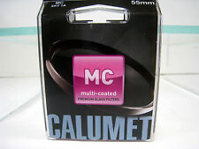 New Calumet 55mm Sky 1A Multi Coated Glass Filter Skylight 1-A Filters Tiffen