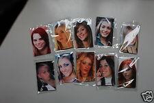 1 carte plastique  personnalisée couleur 2 faces style carte téléphone! 2 FACES