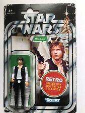 Star Wars The Retro Collection Han Solo. New.