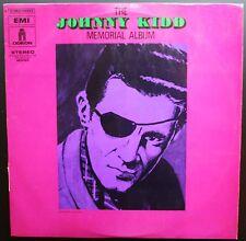 JOHNNY KIDD & THE PIRATES MEMORIAL ALBUM RARE LP 33T AMERICAN ROCK BIEM ODEON