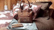 Brahmin Kelsey Hemp Melbourne, matching wallet $540