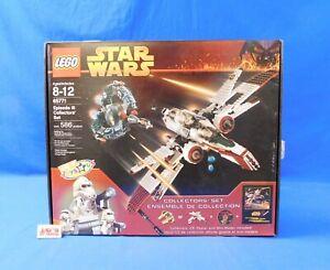 LEGO 65771 Star Wars Episode III Collectors' Set 586 Pieces Complete in Box TRU