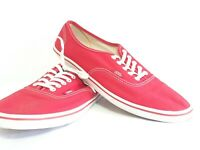 VANS Off the Wall Red Skate Shoes Unisex Men Size US 9 Ladies Women Size US 10.5