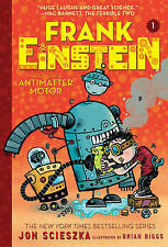Frank Einstein and the Antimatter Motor by Scieszka, Jon %7c Paperback Book %7c 9781