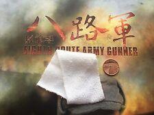 Soldier Story China Octavo Ejército de Ruta artillero Toalla Blanca Suelto Escala 1/6th