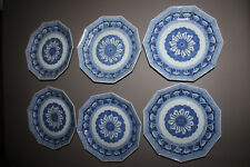 Japanese Arita Blue and White Porcelain Plate Edo Period