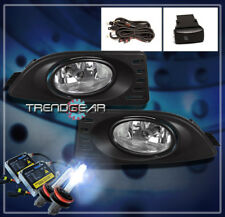 FOR 2005-2007 ACURA RSX COUPE 2DR BUMPER DRIVING FOG LIGHT LAMP W/HARNESS+8K HID