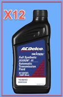 12 Quart GMC OEM Automatic Transmission Fluid AcDelco Full Synthetic Dextron VI