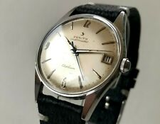 ZENITH Captain Automatic Watch 1960s with BOX  - SWISS MADE
