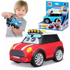 Mini Cooper BB Junior Laugh & Play Toy Car with SOUND Toddler Kids