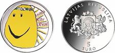 Latvia Lettland silver 5 euro 2018 year My Latvia proof box in stock