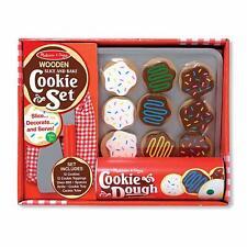 Melissa & Doug - Slice and Bake Cookie Set - Wooden Play Food