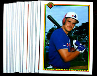 1990 Bowman LARRY WALKER RC ~ 20 CARDS LOT ~ #117 ROOKIE ~ HALL 0F FAME INDUCTEE