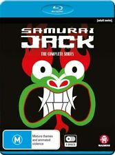 Samurai Jack - The Complete Series - 5 Disc Blu-Ray Set (New & Sealed)