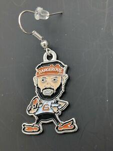 """Baker Mayfield """"Dangerous"""" Cleveland Browns Earrings/jewelry.(B10)"""