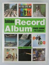 2013 Goldmine Record Album Price Guide & Identification Krause Dave Thompson