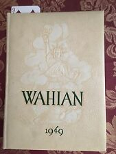 Waynesboro PA High School Yearbook THE WAHIAN 1949 Rare Find