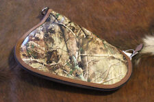 New Camo JUSTIN S Pistol Case Zipper Lined Protect Hunt Conceal Gun Bag