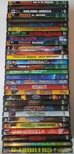 HUGE LOT OF THE ENTIRE GODZILLA 31 MOVIE DVD COLLECTION MOTHRA GHIDORAH RARE