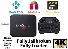 MXQ Pro 4K Ultra HD Android 7.1 Quad Core TV Box KODI 17.6 + NEW Mini Keyboard