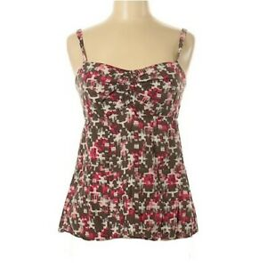 Patagonia Womens Size 8 Printed Sleeveless Sweetheart Neckline Top Tank
