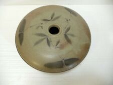 New ListingPhilip Chan Handcrafted Pottery Ibana Vase with Impressed Mark.