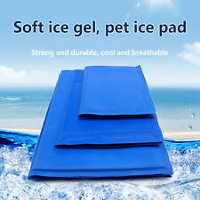 Pet Cool Gel Mat Dog Cat Bed Non-Toxic Cooling Dog Summer Cushion Pad S/M/L