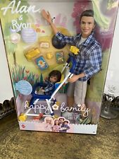 Barbie Happy Family Alan and Ryan, Dad and Son - boxed NRFB MIB