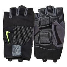 Nike Men's Lock Down Training Gloves Half Finger Fitness GYM Black AC2354-023
