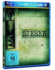 Sieben [Blu-ray](NEU & OVP) Brad Pitt, Morgan Freeman  von David Fincher