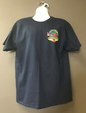 USCG Coast Guard City Traverse City MI Navy Blue Morale Short Sleeve T-Shirt