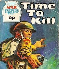 A Fleetway War Picture Library Pocket Comic Book Magazine #827 TIME TO KILL