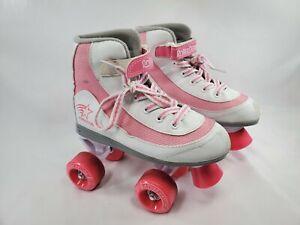 Roller Derry Fire Star Girls Pink Roller Skates Size 3