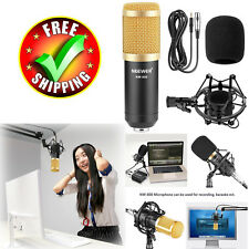 Professional Microphone Set Condenser Studio Recording Voice Music Audio Kit