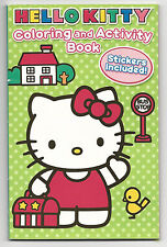 Sanrio Hello Kitty Coloring and Activity Book With Stickers