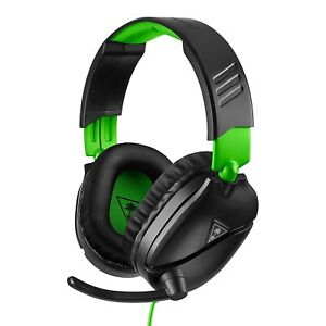 Turtle Beach Recon 70 Gaming Headset for Xbox One & PlayStation 4 - Black/Green