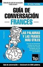 Guía de Conversación Español-Francés y vocabulario temático de 3000 palabras (Sp