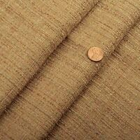 Linen Tweed Textured Solid Drapery Upholstery Fabric Natural 10 Yards